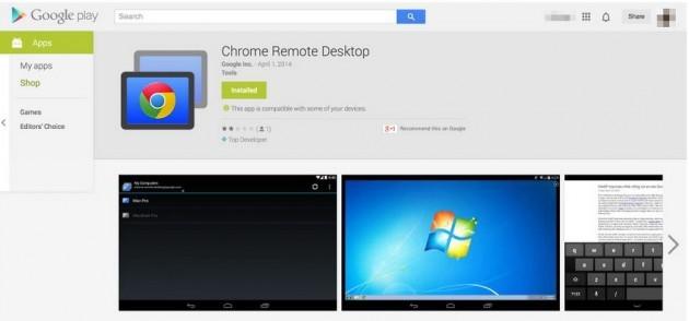 Chrome Remote Desktop arriva sul Play Store ma è ancora una Beta Privata