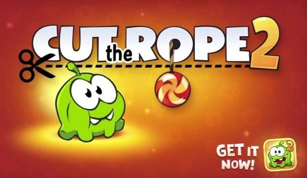 Cut the Rope 2 per Android arriva ufficialmente anche in Italia