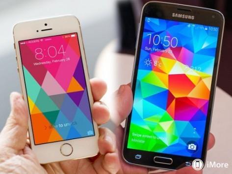 Samsung Galaxy S5 vs iPhone 5S: ecco un test di velocità