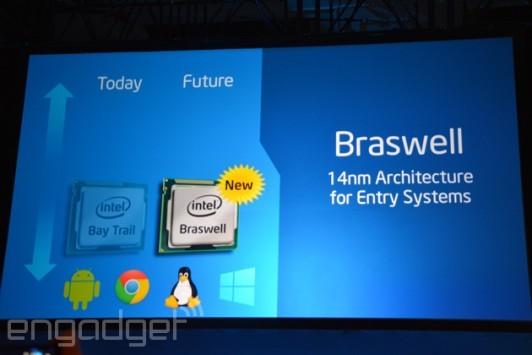Intel Braswell: il successore a 14nm di Bay Trail che arriverà su Android e Chromebook