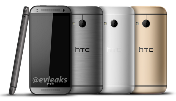 HTC One M8 Mini: evleaks ci mostra le tre colorazioni