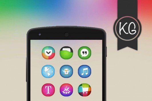 [App Spotlight] KooGoo Icon Pack: ecco una raccolta di icone molto colorate