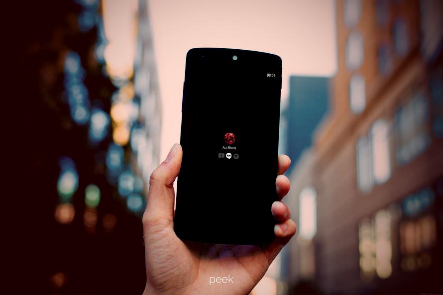[App Spotlight] Peek arriva sul Google Play Store per device Android 4.4 KitKat