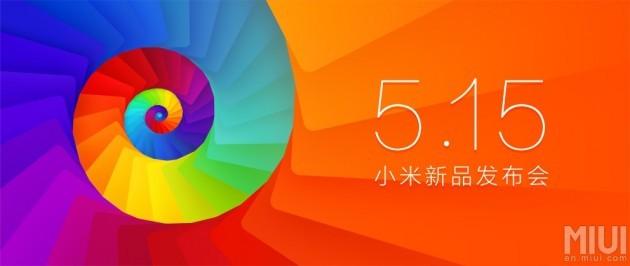 Xiaomi presenterà nuovi prodotti il prossimo 15 Maggio