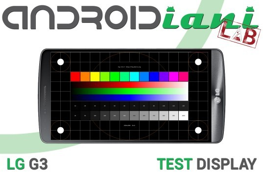 LG G3: test del display [ANDROIDIANI LAB]