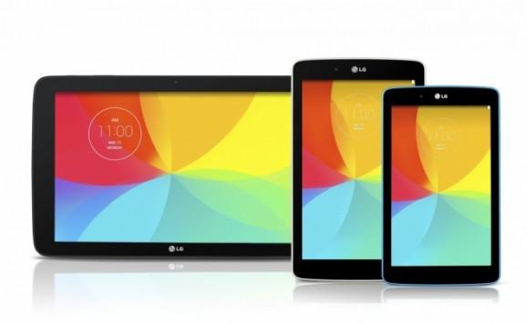 LG G Pad 7.0 debutta in Europa: 8.0 e 10.1 a seguire durante il Q3 2014