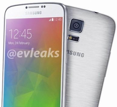 Samsung Galaxy F vs Galaxy S5: una nuova immagine mostra cornici molto sottili