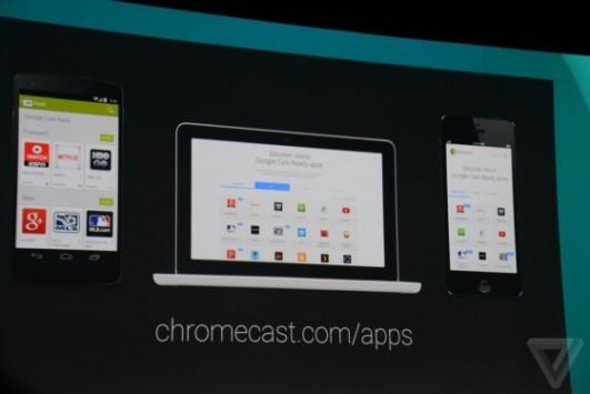 [I/O 2014] Chromecast ora può effettuare il mirroring del display direttamente sulla TV