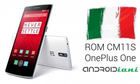 ROM Androidiani.com CM11S per OnePlus One