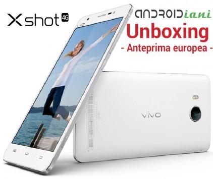 Vivo Xshot: unboxing di Androidiani.com in anteprima europea