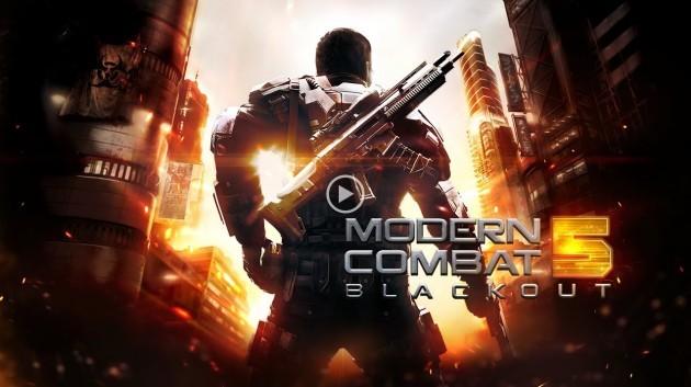 Modern Combat 5: Blackout, dal 24 Luglio a 5,99 euro