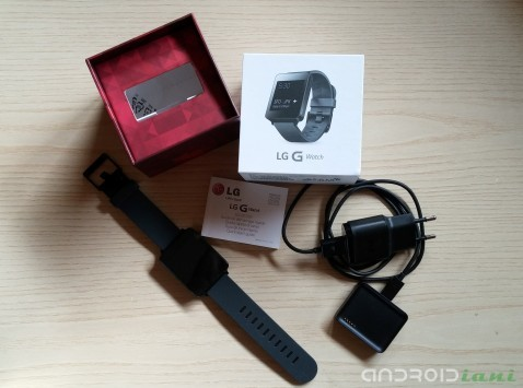 LG G Watch: il nostro unboxing