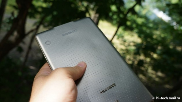 Samsung Galaxy Tab S: i problemi alla back cover non deriverebbero dal surriscaldamento