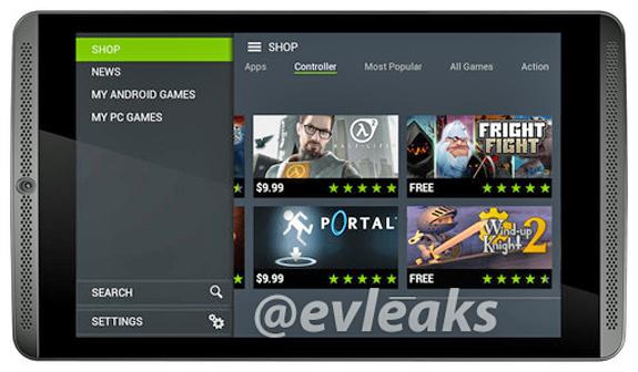 Nvidia: un tablet della famiglia Shield non ancora annunciato si mostra in un'immagine