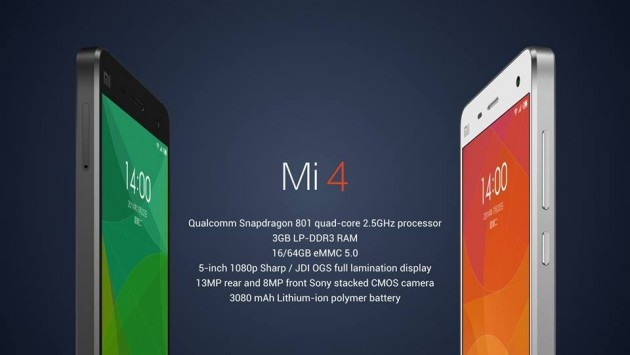 Xiaomi: disponibile Android 4.4 Stock per Mi3 e Mi4
