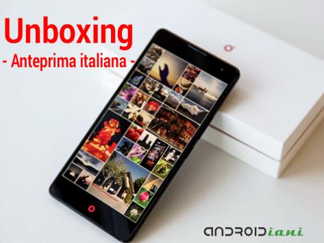 Nubia Z7 Max, unboxing in anteprima italiana