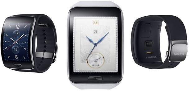Samsung Gear S: nuovo smartwatch con display curvo e modulo SIM