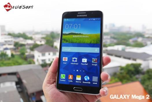 Samsung Galaxy Mega 2: prime immagini dal vivo