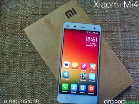 Xiaomi Mi4: la recensione di Androidiani.com