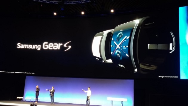 Samsung Unpacked 2014: Gear S ufficiale