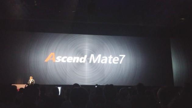 Huawei presenta Ascend Mate 7 [IFA 2014]