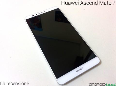 Huawei Ascend mate 7: La recensione