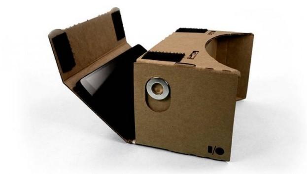 Google Cardboard, la realtà virtuale a meno di tre Euro