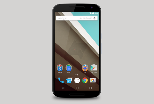 Nexus 6 si mostra in un nuovo press render