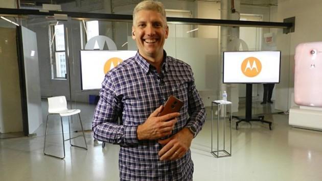 Rick Osterloh, presidente Motorola: il nuovo Moto X arriverà in Estate, per i tablet c'è Lenovo