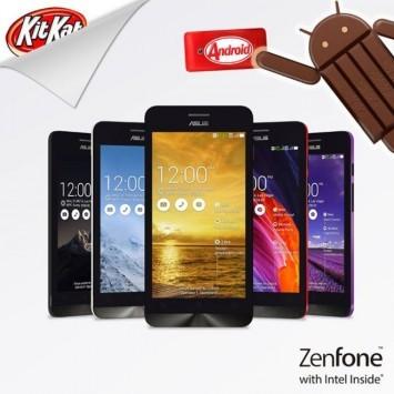 ASUS Zenfone 4: arriva ufficialmente l'update ad Android 4.4 KitKat