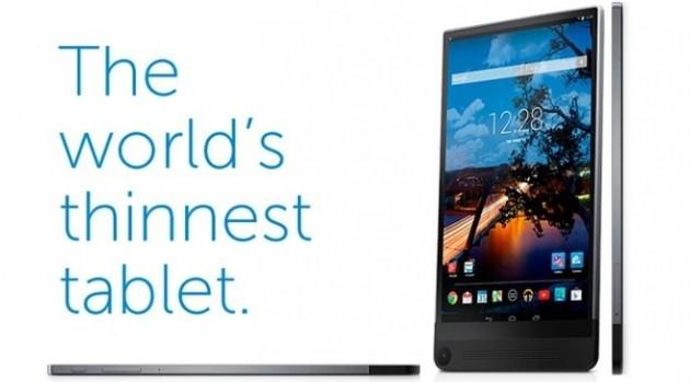Dell Venue 8 7000: ecco il tablet Android più sottile al mondo