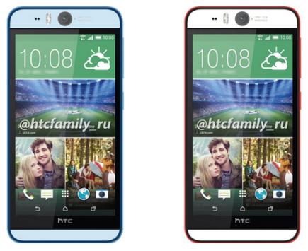HTC Desire Eye: ecco le caratteristiche tecniche e il pannello frontale