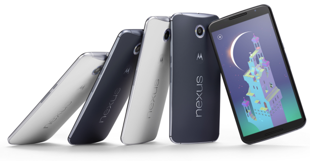 Google Nexus 6 ufficiale: 5.96