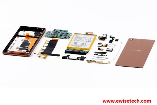 Sony Xperia Z3, il teardown ci mostra cosa c'è dentro