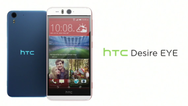 HTC presenta Desire EYE: fotocamera frontale da 13 MP con doppio flash LED
