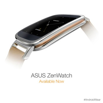 ASUS ZenWatch arriva sul play store