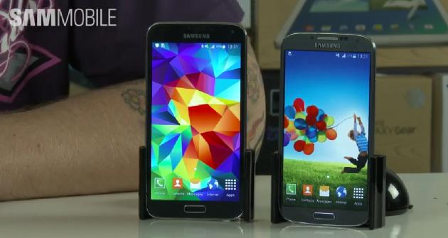 Android Lollipop: video-confronto tra Samsung Galaxy S5 E Galaxy S4