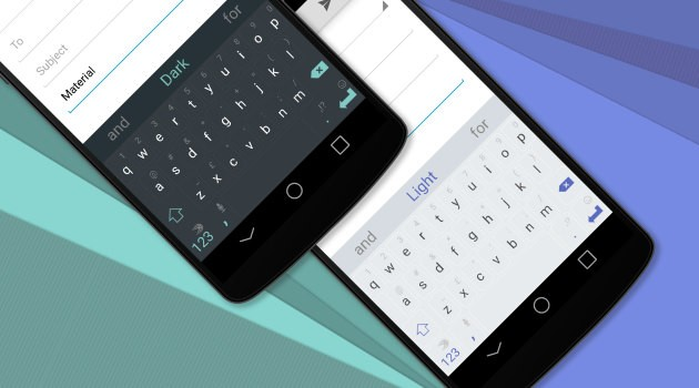 Swiftkey: 5 nuovi temi in Material Design