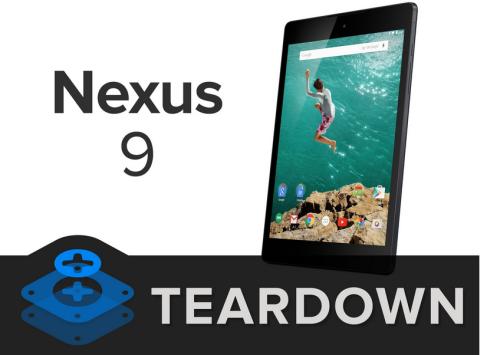 Nexus 9 Teardown: Assemblaggio intricato e difficoltoso da riparare