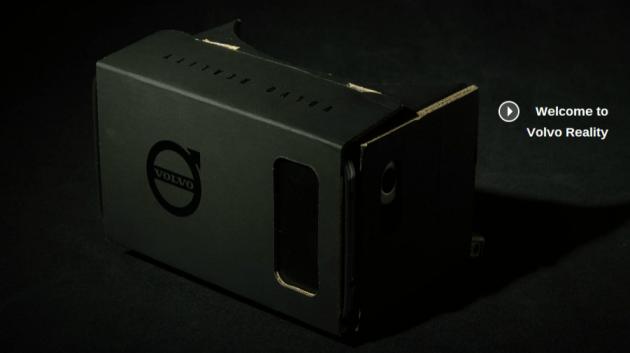 Volvo, test drive virtuali con Google Cardboard