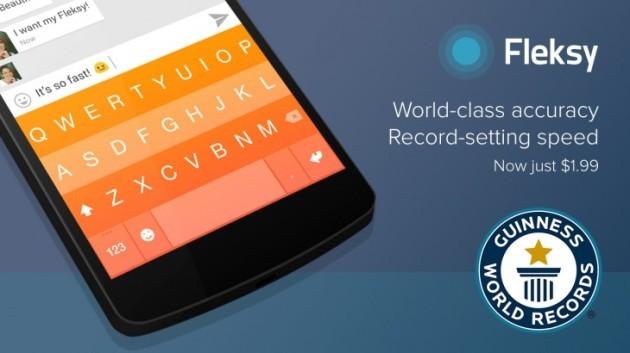 Fleksy keyboard vince il record del mondo per velocità di digitazione