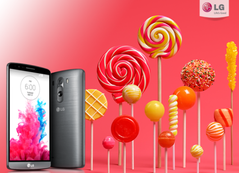 LG G3, eccolo in video con Lollipop
