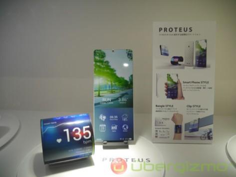 Kyocera Proteus: quando lo smartphone diventa un foglio di carta