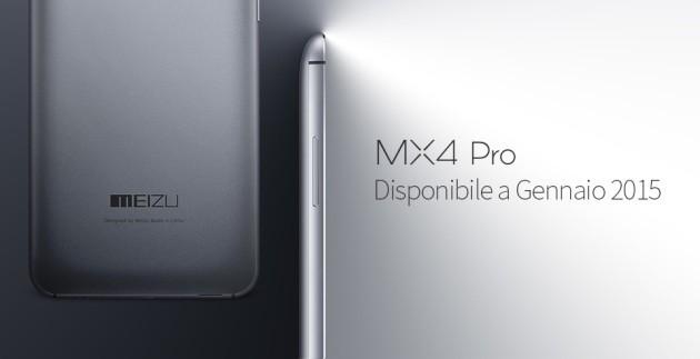 Meizu MX4 Pro, in Italia da Gennaio
