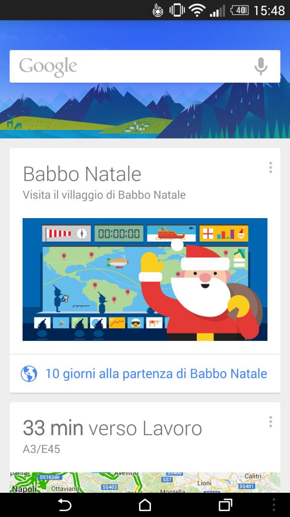 Santatracker Babbo Natale Arriva Su Google Now