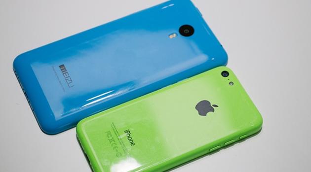 Meizu M1 Note, confronto fotografico con iPhone 5C: una somiglianza eccessiva?