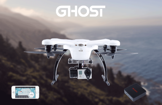 Ghost, il drone volante che segue lo smarthone ovunque esso sia