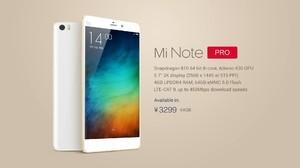 Xiaomi Mi Note e Mi Note Pro presto disponibili su Oppomart