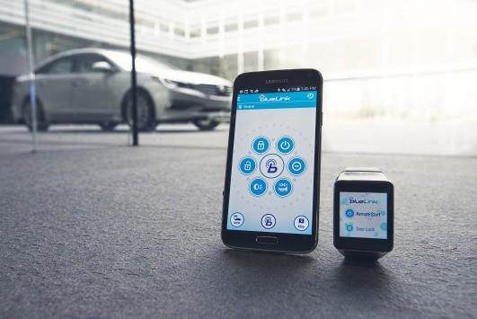 Hyundai presenta Blue Link, l'app che avvia l'auto dallo Smartwatch