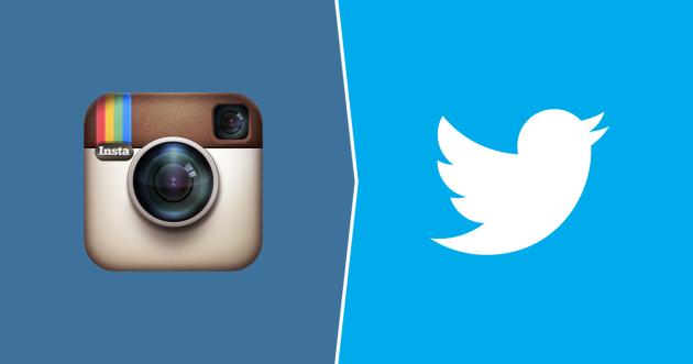 Twitter invita i Vip a non usare Instagram